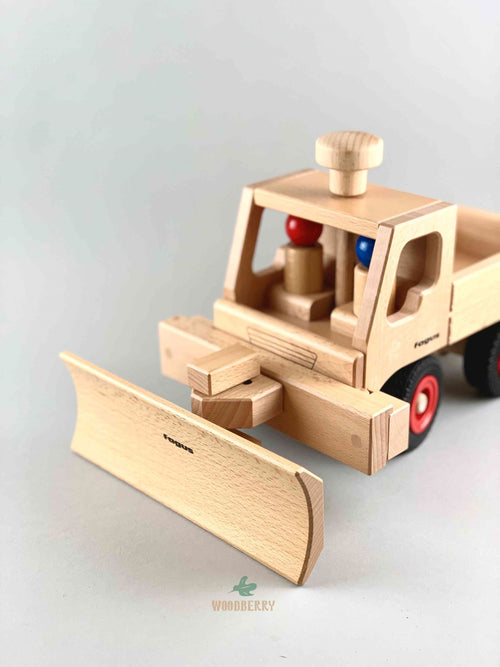 Wooden Snowplow Attachment
