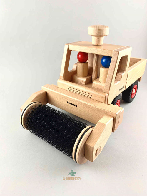 Wooden Sweeper Extension Attachment