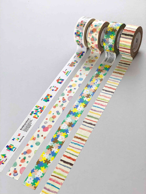 Washi Tape - Kids Playtime Set (15 mm)