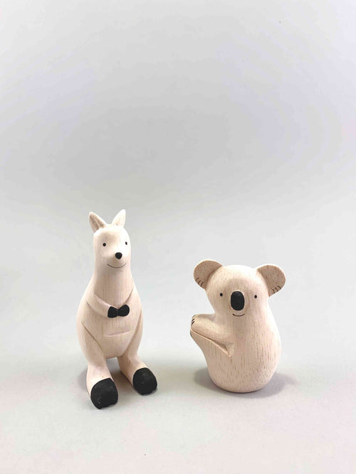 Wooden Australian Animals Set