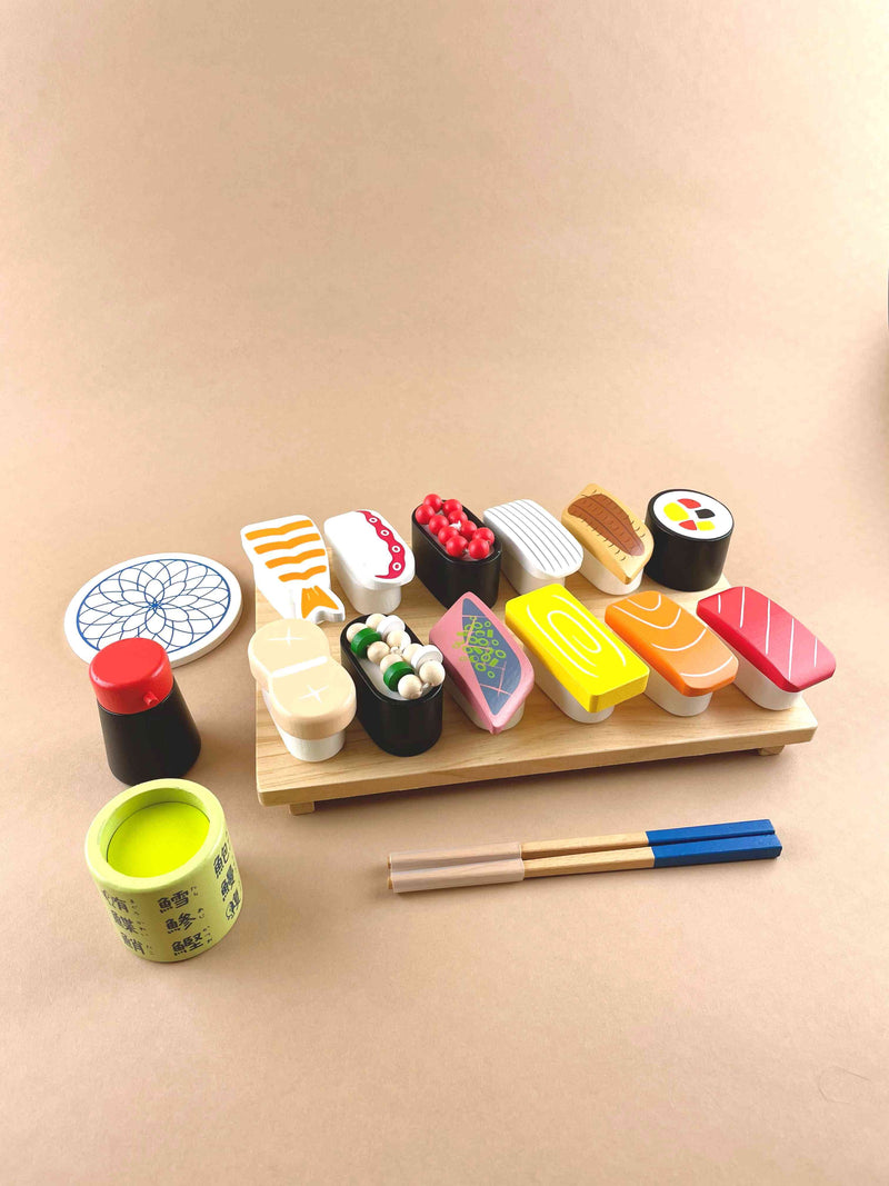 Woody Puddy Deluxe wooden sushi toy