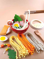 Wooden play food noodles Woodberry Toys  USA