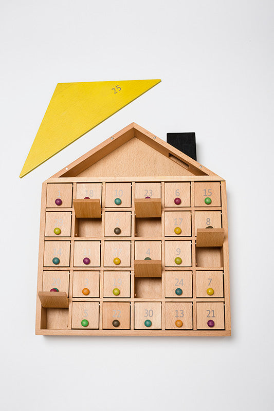 Apartment 31 by kiko+&gg*. designed in Japan. Wooden Advent calendar