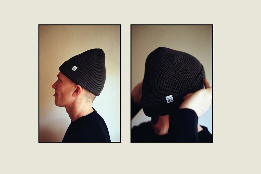 Armitage & McMillan Holiday Edit Norse Projects Watch Cap Olive