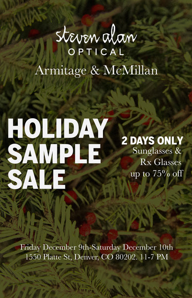 steven alan optical armitage mcmillan sample sale