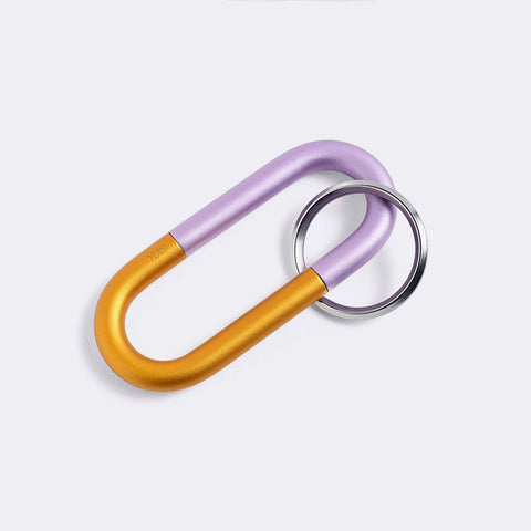HAY Cane Key Ring Lilac