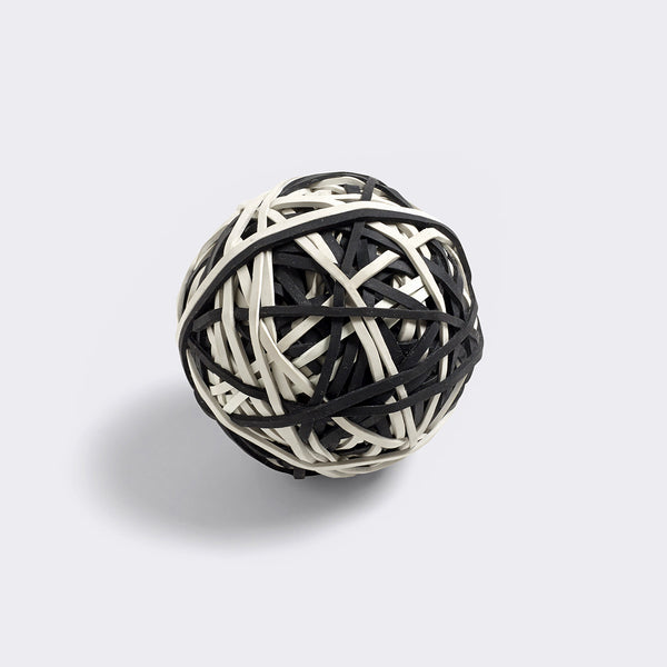 Elastic Ball - Black & White