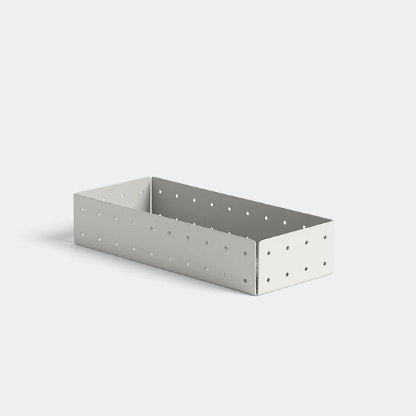 Punched Organizer Pen Tray - Warm Grey