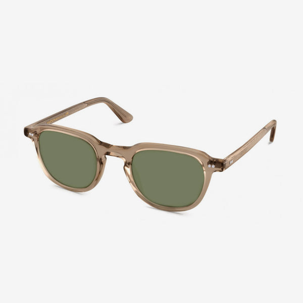 Billik Sunglasses - Cinnamon  / Green Lenses