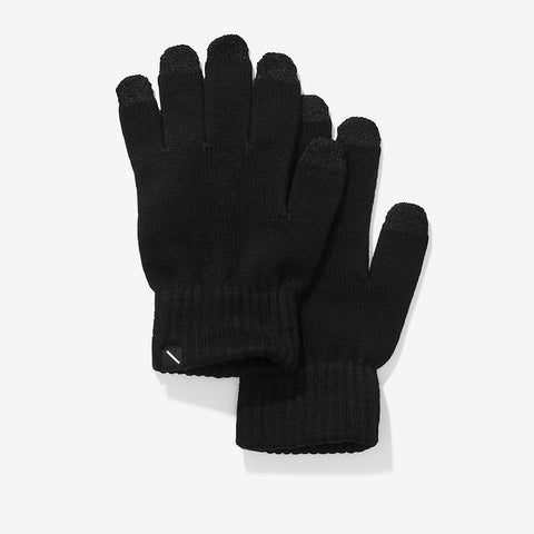 Saturdays NYC Dylan Gloves Black Cotton/Cashmere 1