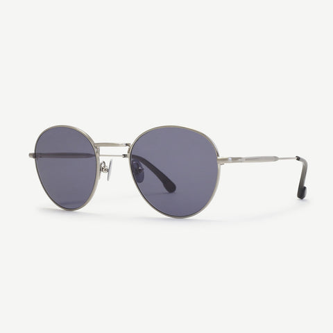 Steven Alan Optical Quincy Sunglasses Brushed Silver