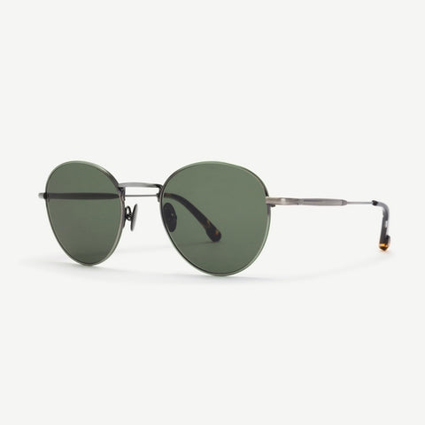 Steven Alan Optical Quincy Sunglasses Brushed Dark Gunmetal