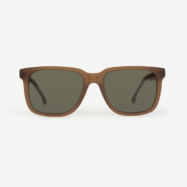 Sterling Sunglasses - Rubberized Brown Crystal