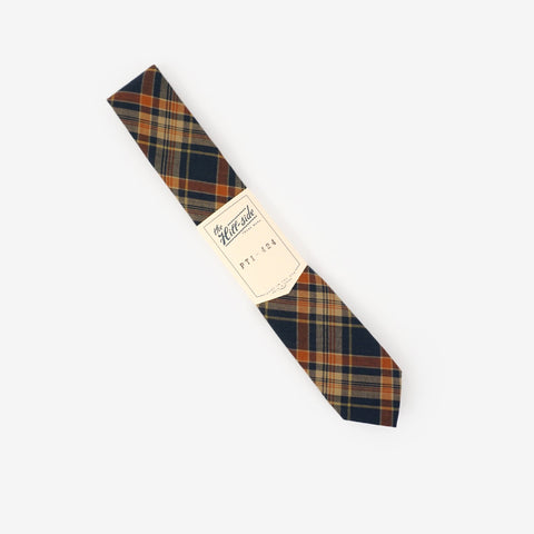 the hill-side ss17 pointed tie indian madras