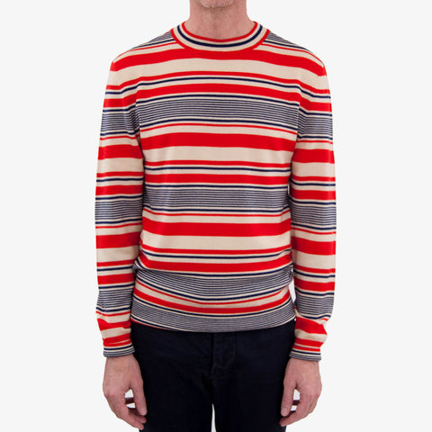 APC Scott Sweater Red