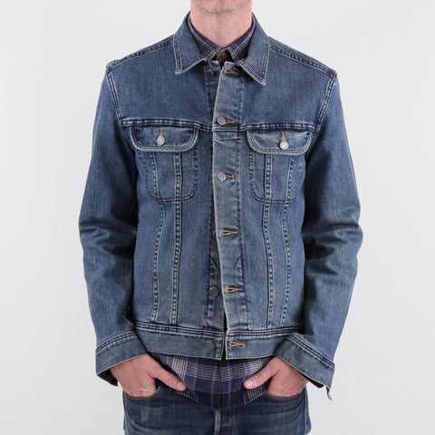 APC New Denim Jacket Indigo Wash