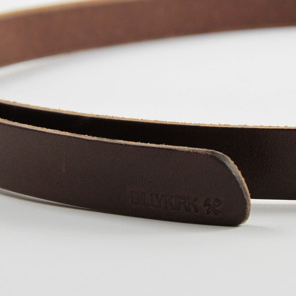 No. 109 Slim Belt - Brown