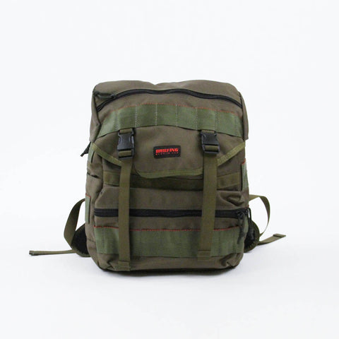 Briefing Bags Simple Flap Backpack Moss