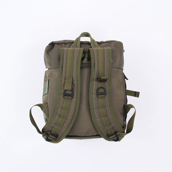 Simple Flap Backpack - Moss