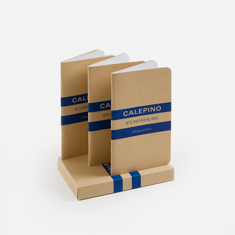 Calepino No 3 Plain Notebooks