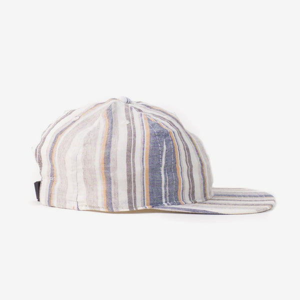 Multi Stripe Ball Cap - Beige