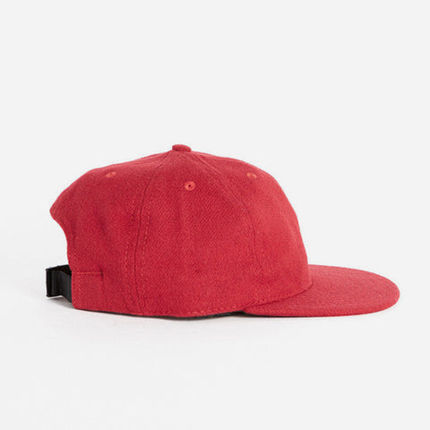Fairends red flannel ball cap