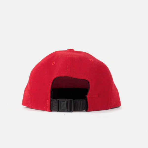 Flannel Ball Cap - Red