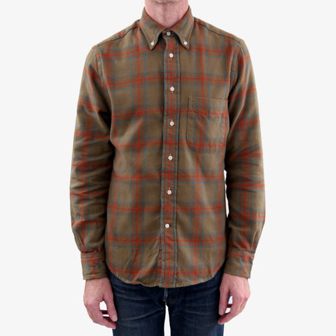 The Classic Button Down - Plains Hunting Plaid