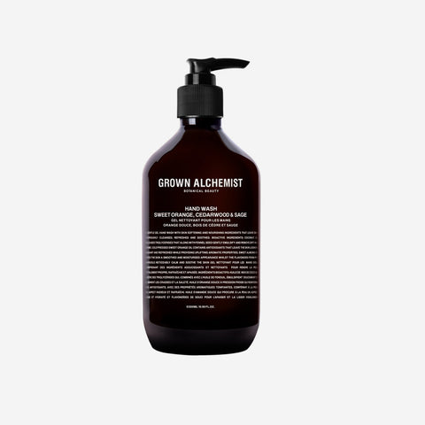 Grown Alchemist Hand Wash Sweet Orange Cedar wood Sage
