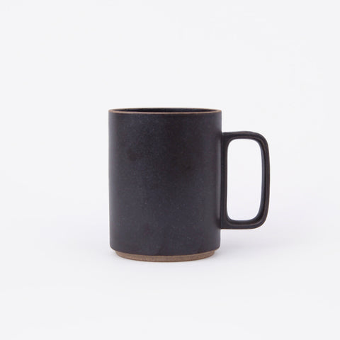 Hasami Porcelain coffee mug black