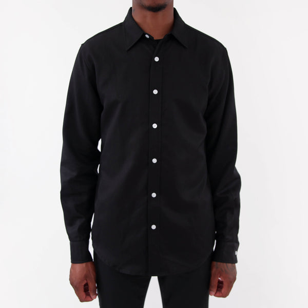 Grant Dress Shirt - Black