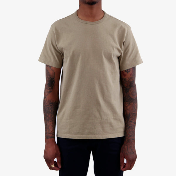 Two Pack Tee Shirts - Khaki Fog