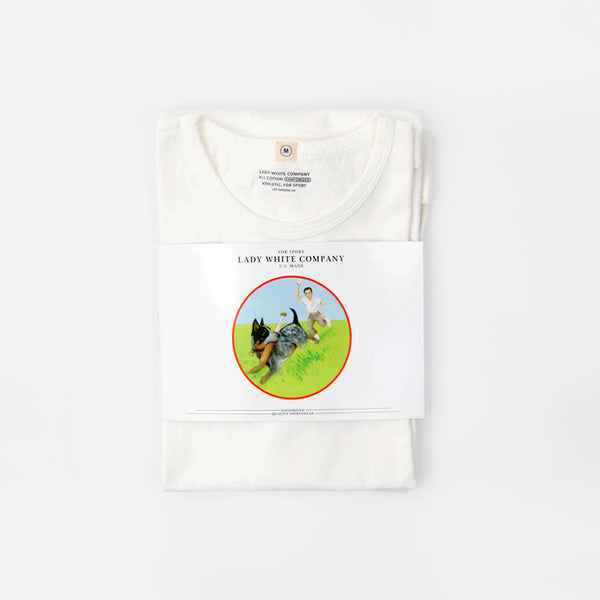 """Our White T-Shirt"" - Two Pack"