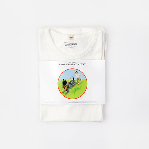 Lady White Co Tee Shirt White