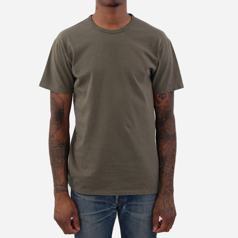 Two Pack Tee Shirts - Olive