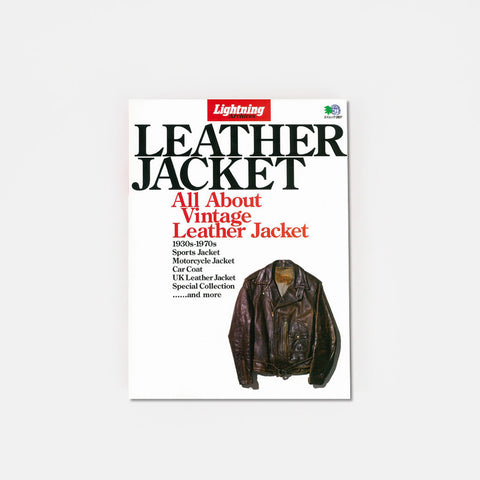 Lightning Clutch Magazine Vintage Leather Jacket Book