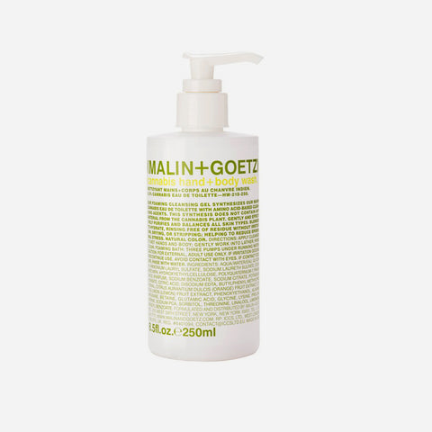 Malin + Goetz Cannabis Hand and body wash soap