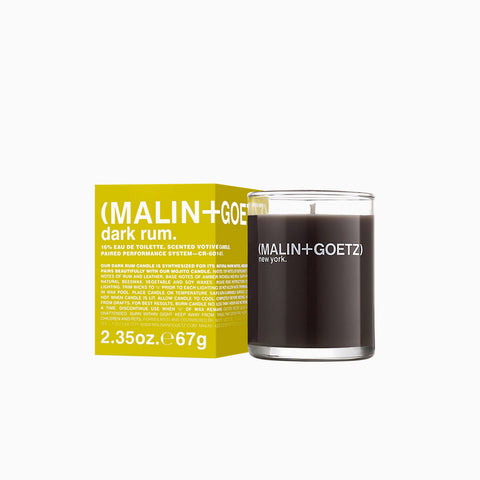Malin and Goetz Votive Candle Dark Rum