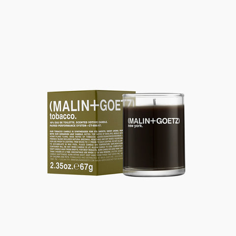 Malin and Goetz Votive Candle Tobacco