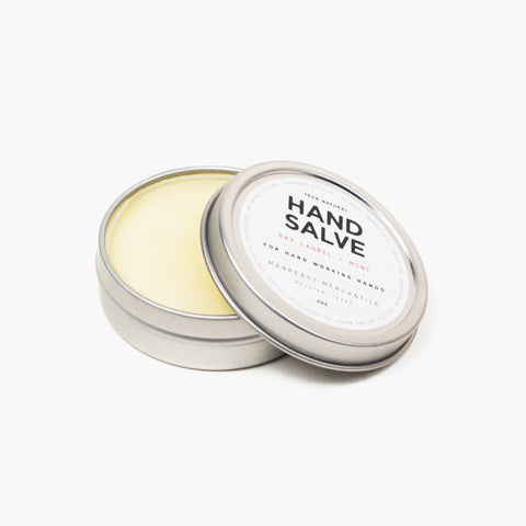Manready Mercantile Hand Salve Bay Laurel + Mint
