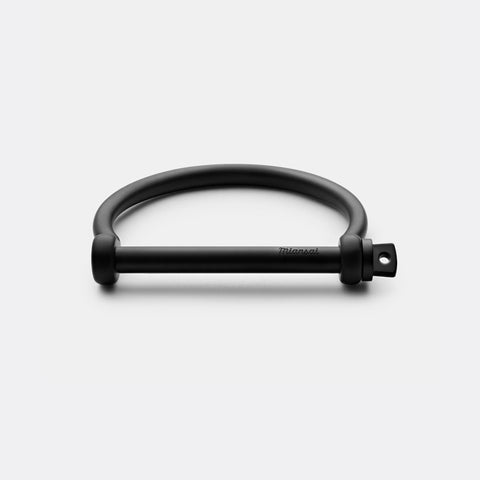 Miansai Screw Cuff Noir Matte Black brass