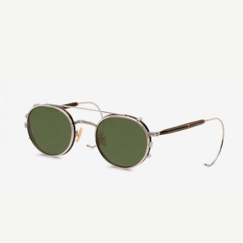 MOSCOT Spiel clip package sunglasses antique tortoise