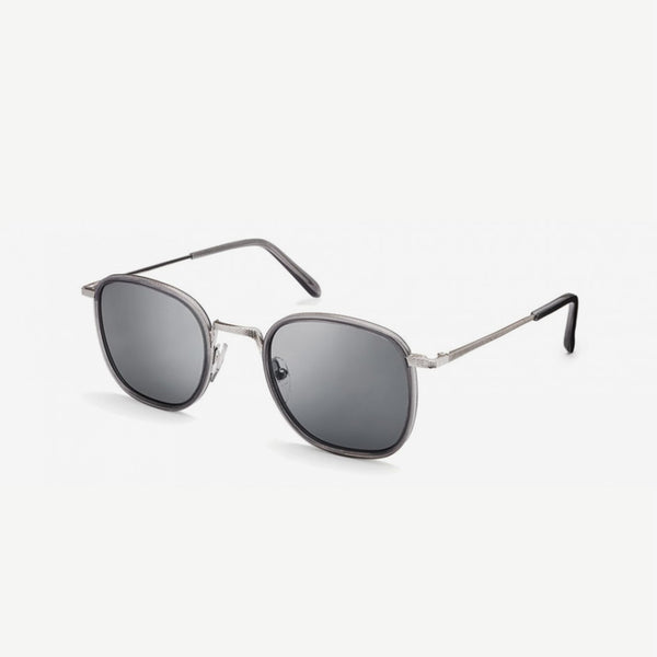 Drimmel Sunglasses - Grey / Silver Grey Lenses