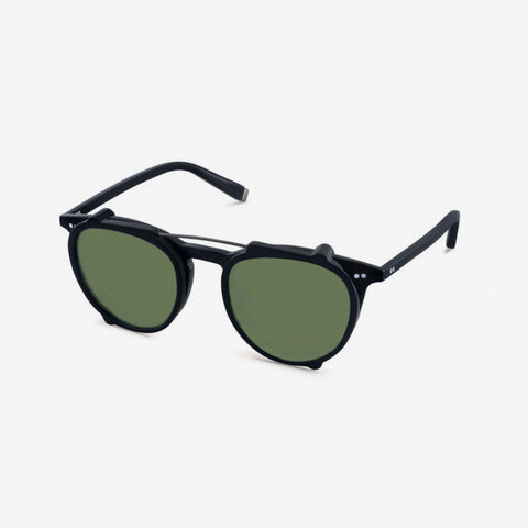 MOSCOT Jared clip sunglasses black