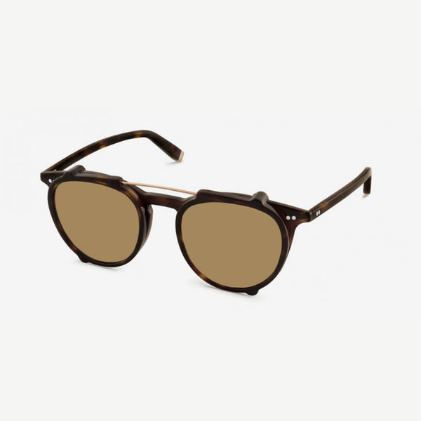 Jared Clip Sunglasses - Tortoise