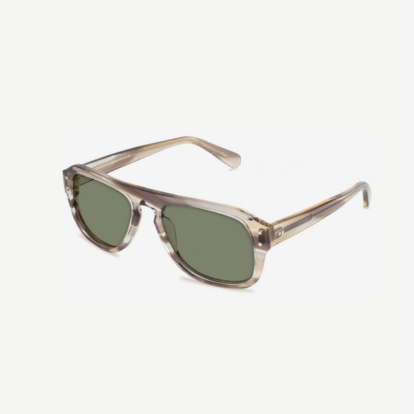 Sechel Sunglasses - Straw  / G-15 Lenses