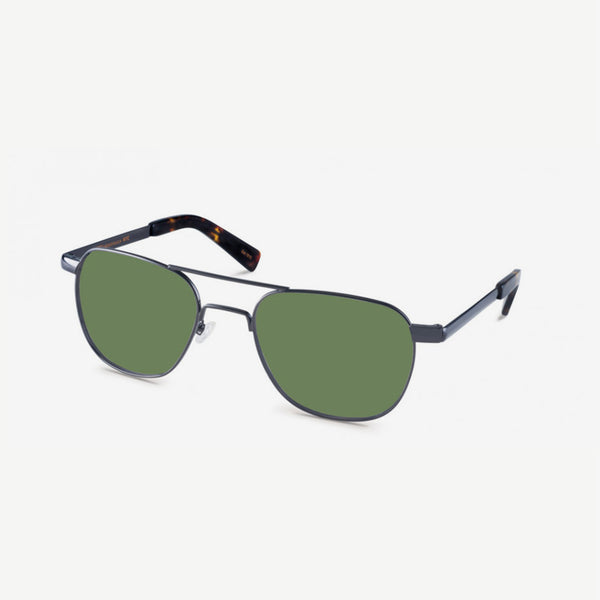 Zulu Sunglasses - Gunmetal / G-15 Lenses