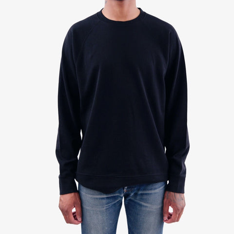 Norse Projects Vorm Mercerised Sweatshirt Black