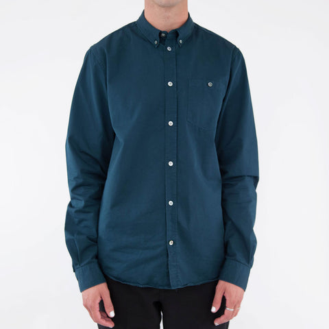 Anton Twill Shirt - Quartz Green
