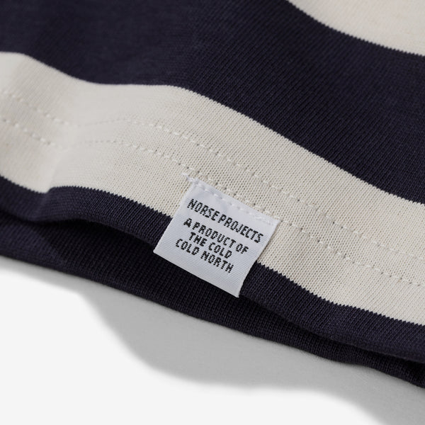 James Rugby Stripe Tee - Navy